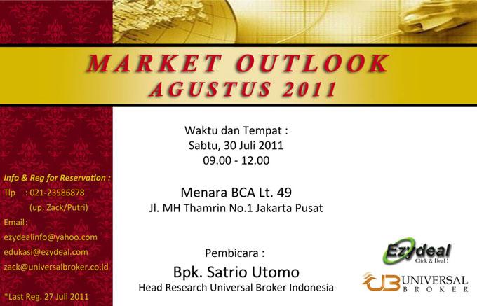 market outlook agustus 2011